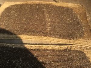 天日で自然乾燥した蕎麦