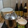 かえし、準備するもの、醤油、味醂、砂糖